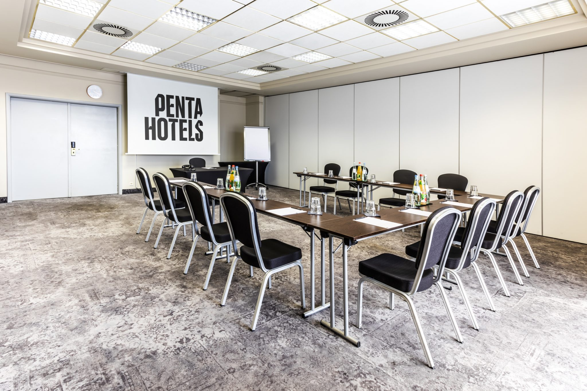 Penta hotels conference room table